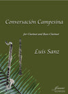 Sanz: Conversacion Campesina for Clarinet and Bass Clarinet