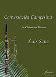 Sanz: Conversacion Campesina for Clarinet and Bassoon