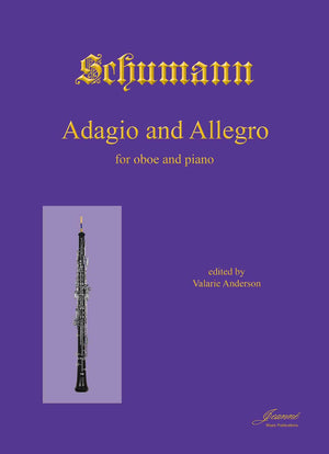 Schumann, R. (Anderson): Adagio and Allegro in A-flat, op. 70  for oboe and piano