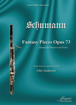 Schumann: Fantasy Pieces, op. 73 adapted for bassoon and piano