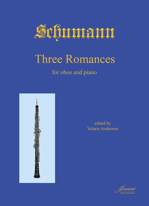 Schumann (Anderson): Three Romances, op. 94 for oboe and piano