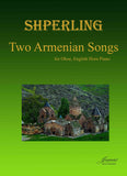 Shperling: Two Armenian Songs for oboe, English horn and piano