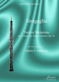 Sinigaglia:  Twelve Variations for oboe and piano on a theme by Schubert, op. 19