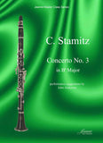 Stamitz, Carl (Karl): Concerto No. 3 in B-flat for clarinet and piano