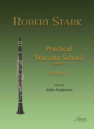 Stark (Anderson): Practical Staccato School for Clarinet, op. 53, vol. 2