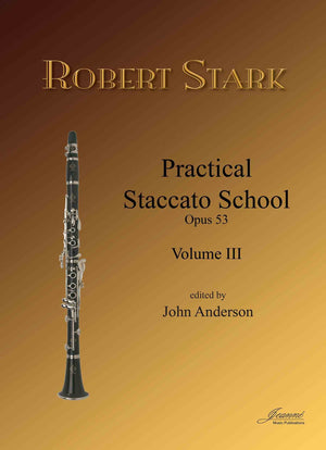 Stark (Anderson): Practical Staccato School for Clarinet, op. 53, vol. 3