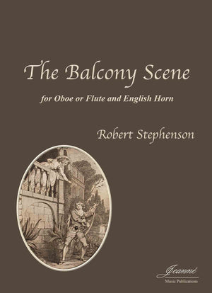 Stephenson: The Balcony Scene for oboe or flute and English horn