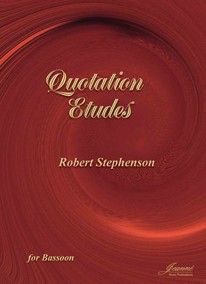 Stephenson: Quotation Etudes for Bassoon
