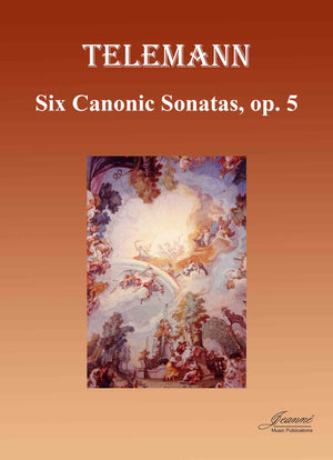 Telemann and Anderson: Six Canonic Sonatas, op. 5 (bass clef), Version B