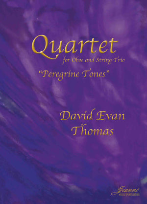 Thomas: Quartet 'Peregrine Tones' for Oboe and String Trio