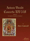 Vivaldi (Camwell): Concerto RV548 for Two Soprano Saxophones and Keyboard