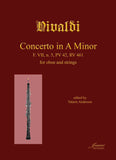 Vivaldi (Anderson): Concerto in A minor for Oboe and String Orchestra, F. VII and 5, RV 461 [STUDY SCORE]