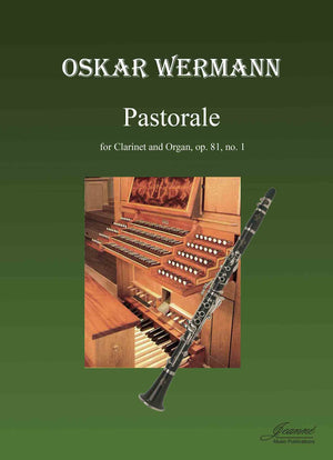 Wermann: Pastorale for clarinet and organ
