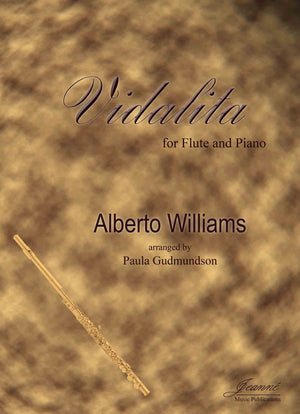 Williams (Gudmundson): Vidalita for Flute and Piano