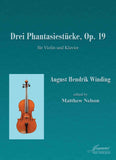 Winding (Nelson): Three Fantasy Pieces, op. 19 for violin and piano