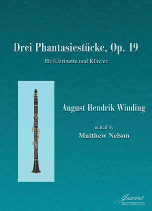 Winding (Nelson): Three Fantasy Pieces, op. 19 for clarinet and piano