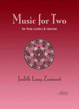 Zaimont: Music for Two (flute or violin and clarinet)