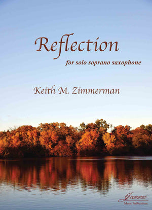 Zimmerman: Reflection for Soprano Saxophone