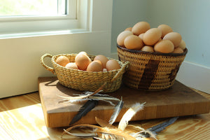 Free Range, Hand Picked, Jumbo Brown Chicken Eggs (1 Dozen)