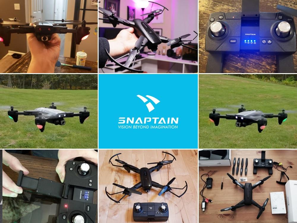 Snaptain - SP500 Foldable 5G 1080p Drone - Gadget Room