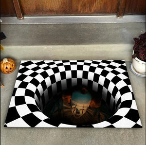 IT Illusion Halloween Doormat