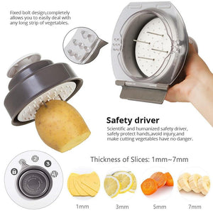 Professional Multi-functional Vegetable Slicer & Grater - Gadget Room