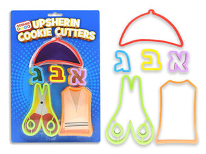 Upsherin Cookie Cutters Set