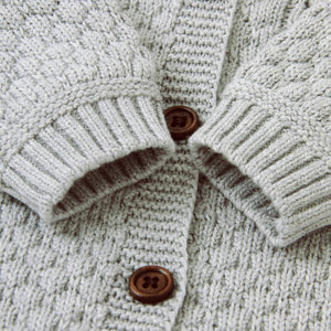 Knitted Baby Outfit with Matching Hat