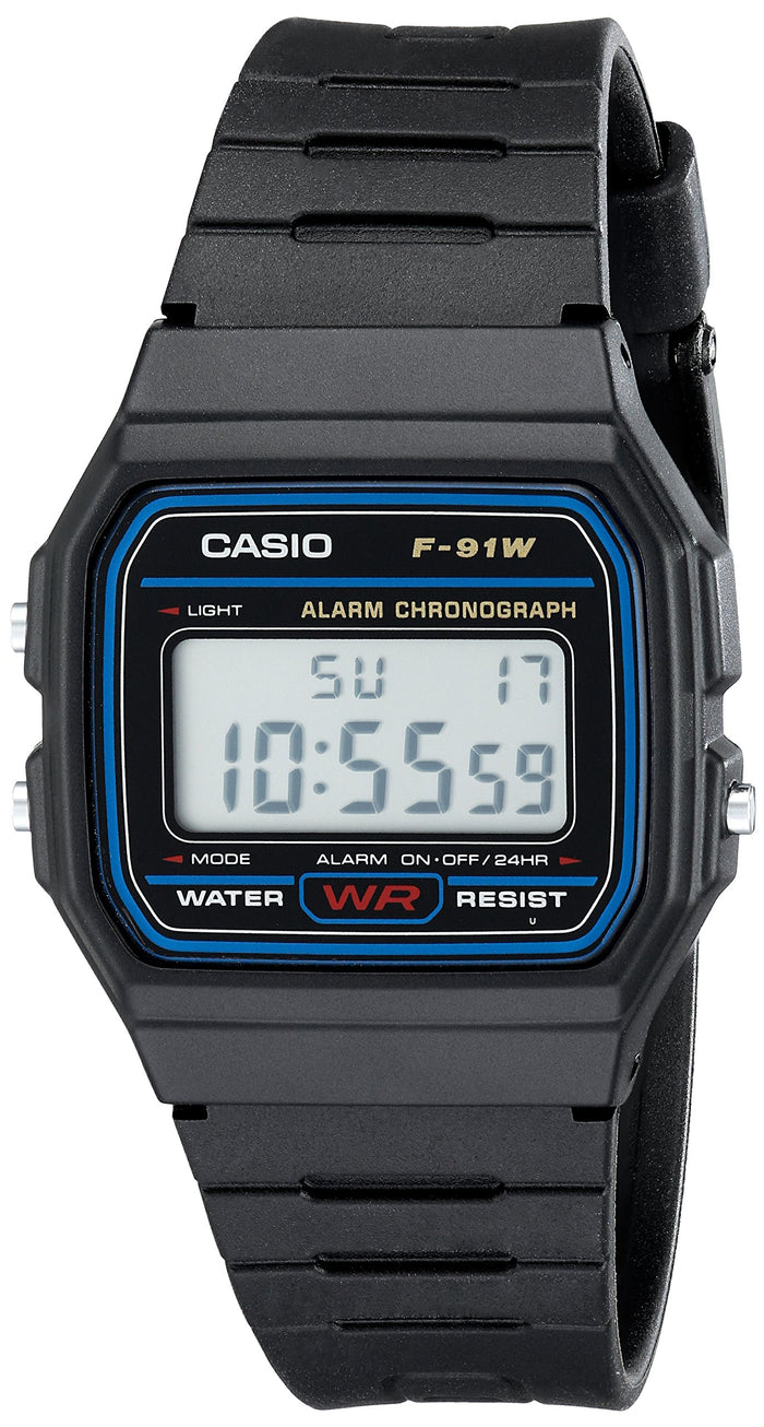 The Iconic Casio F-91W Digital Sport Watch