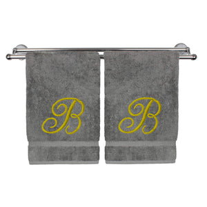Monogrammed Towel Gift (Pick any letter)