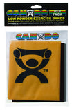 CanDo Low Powder Exercise Band Pep Pack