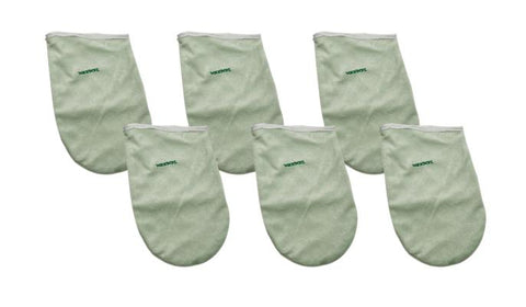 WaxWel Paraffin Bath - Accessory Package - 6 Terry Hand Mitts ONLY