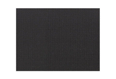 "Orfilight Black NS, 18"" x 24"" x 1/16"", micro perforated 13%"