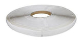 "1/2"" self-adhesive hook material, white"