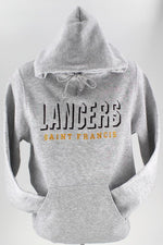 Load image into Gallery viewer, LANCERS SAINT FRANCIS Shadowblock Embroidery - Hooded Pullover