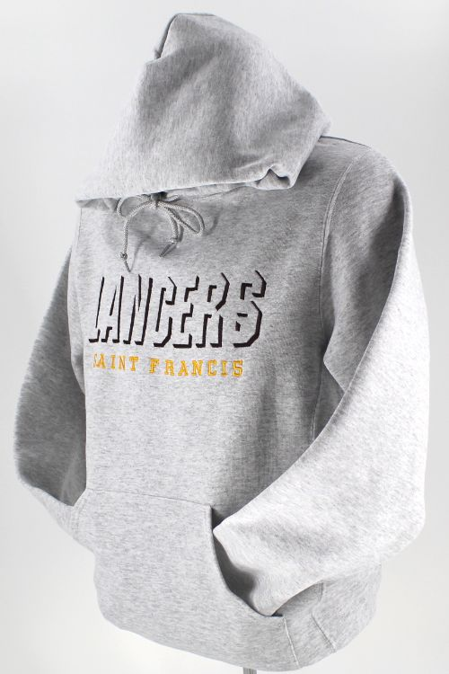 LANCERS SAINT FRANCIS Shadowblock Embroidery - Hooded Pullover