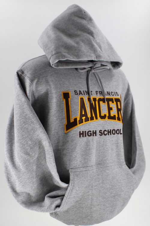 SAINT FRANCIS LANCERS Tackle Twill - Hooded Pullover