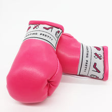Load image into Gallery viewer, Fighting Pretty Mini Boxing Gloves - Knockout Pink