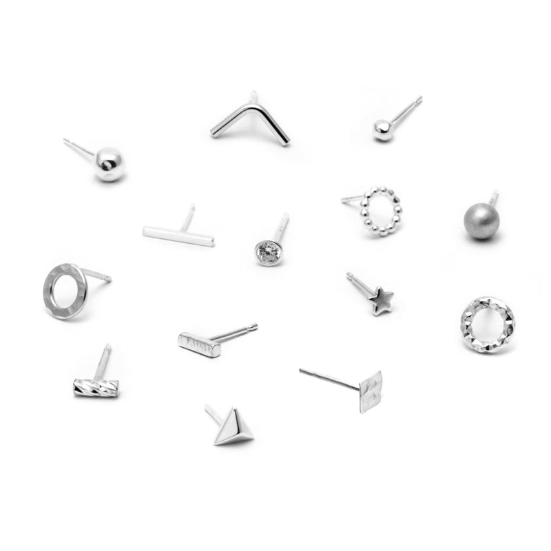 Mix & Match Stud Earring Set