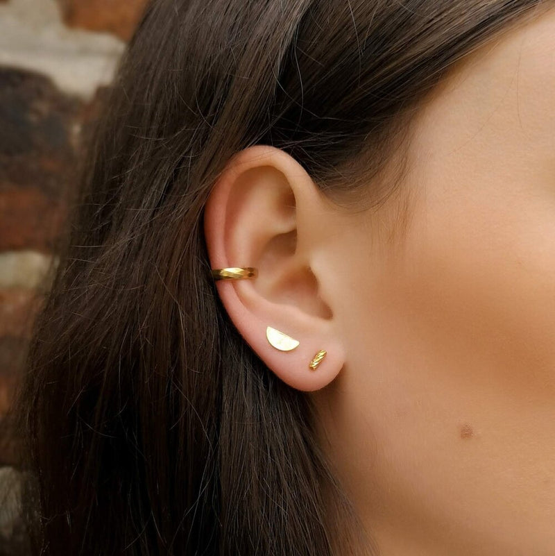 Faceted Ear Cuff