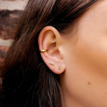 Gold Mix and Match Stud Earring Set