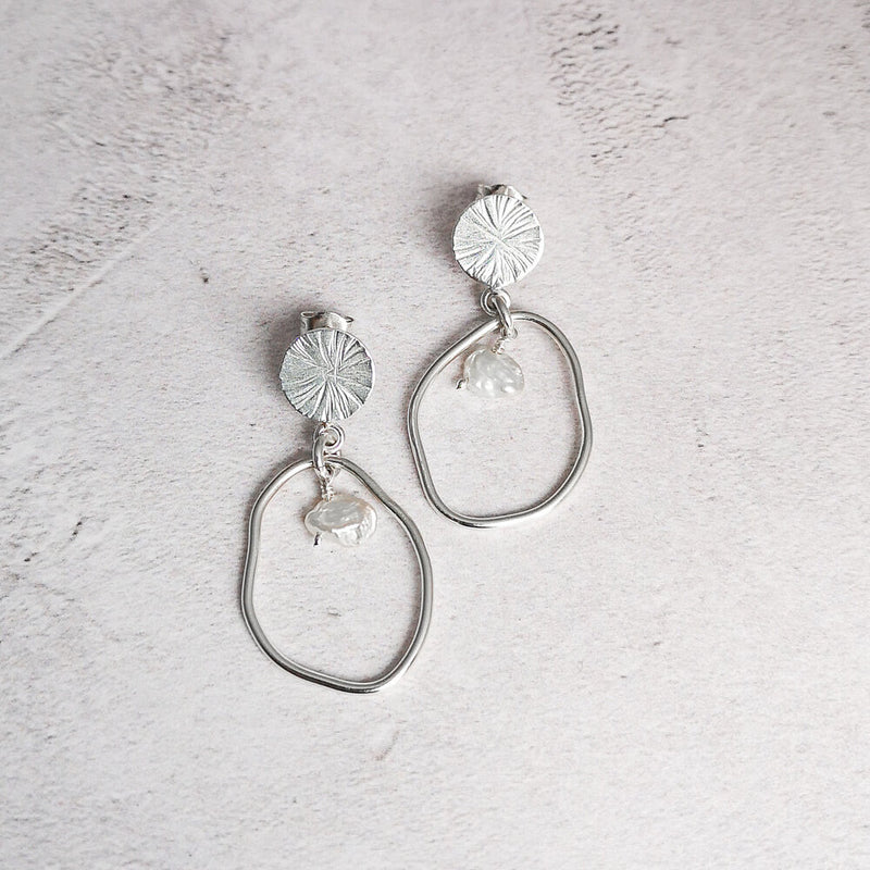 Pearl Earrings No.27