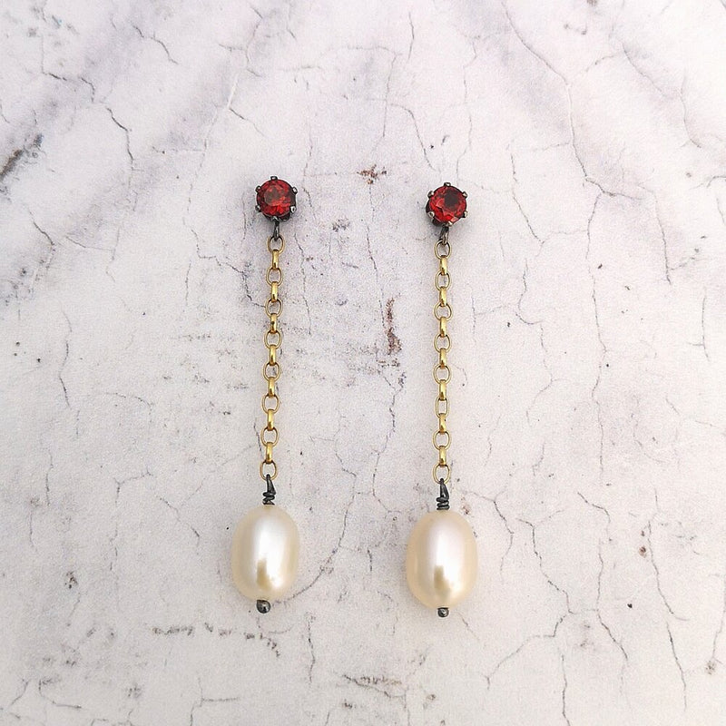 Pearl Earrings No.5