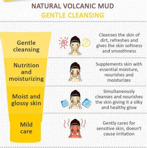 🔥 Buy 1 Free 1 🔥 - TED™ Volcanic Mud Foam Cleanser
