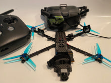 "Load image into Gallery viewer, Custom built 5"" Stealth 360 Invisible Drone"