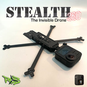 "Stealth 360 5"" Invisible Drone Frame Kit"