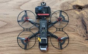 "Custom built 4"" Stealth Whoop 360 Invisible Drone"