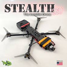 "Load image into Gallery viewer, Stealth 360 5"" Invisible Drone Frame Kit"