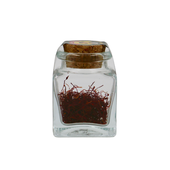 CHIQUILIN Azafran 1g Filaments Saffron, Glass Jar