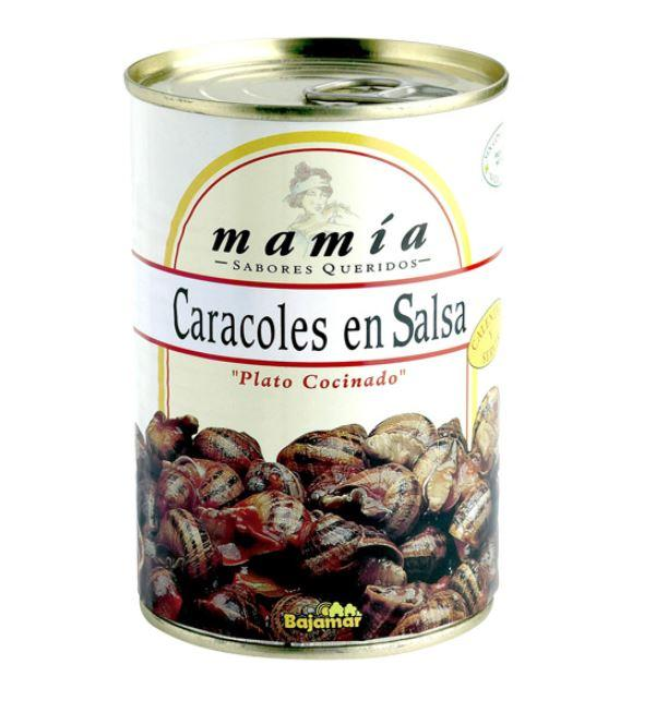 BAJAMAR Snails in Sauce 400g